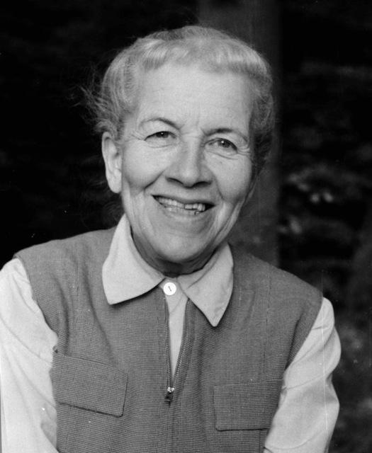 Janina Jankowska, fot. Wojciech Jankowski, 1961 r., archiwum rodzinne Jankowskich